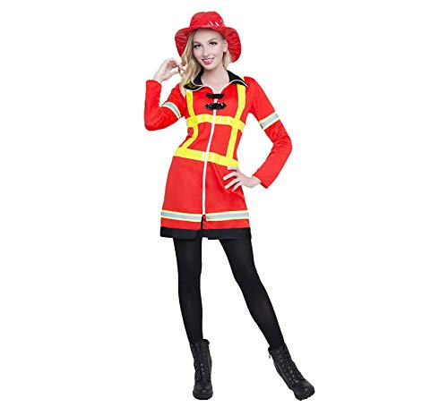 Car&Gus Disfraz de Bombera para Mujer: Amazon.es: Juguetes y juegos