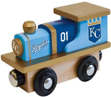 MasterPieces MLB Kansas City Royals Toy Train - Kansas Train Set