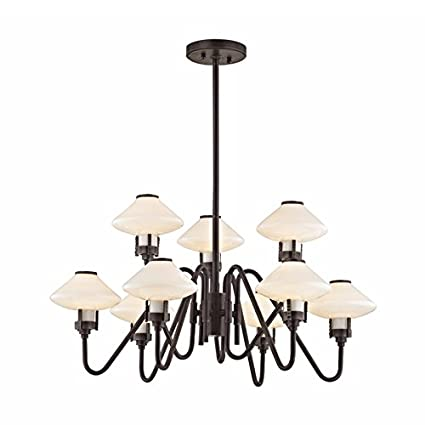 Amazon.com: Hudson Valley lighting1015-pn 15-light – Lámpara ...