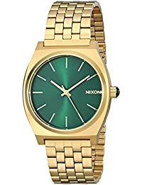 Time Teller A0451919-00. Gold and Green Women's Watch...