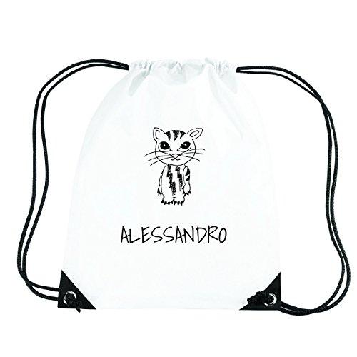 JOllipets ALESSANDRO Turnbeutel Sport Tasche PGYM5091 Design: Katze
