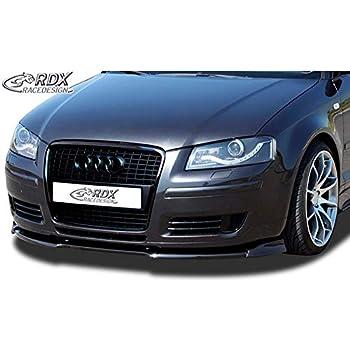8VA Sportback 8V7 Convertible Front Lip Splitter RDX Front Spoiler VARIO-X A3 8V 8VS Sedan