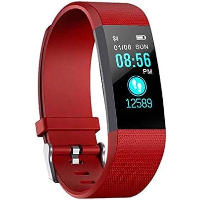 GOPG Smart Wristband Fitness bracelet Bluetooth Waterproof Sports Business Sleep Monitor For Men and Women Pedometer Estimated Price £16.19 -