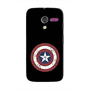 Cover It Up - Captain Shield Print Moto X Hard Case