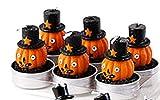 One Hundred 80 Degrees Halloween Character Tealights (Set/6) (Pumpkin)