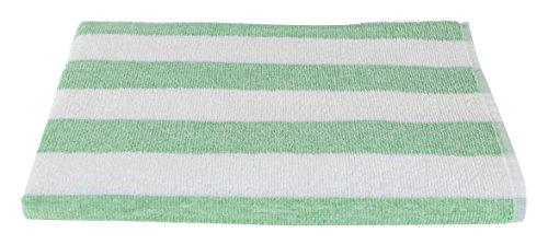 Bleach Safe Luxury Beach Towel Cabana Stripe- Fibertone by 1888 Mills, Made in the USA