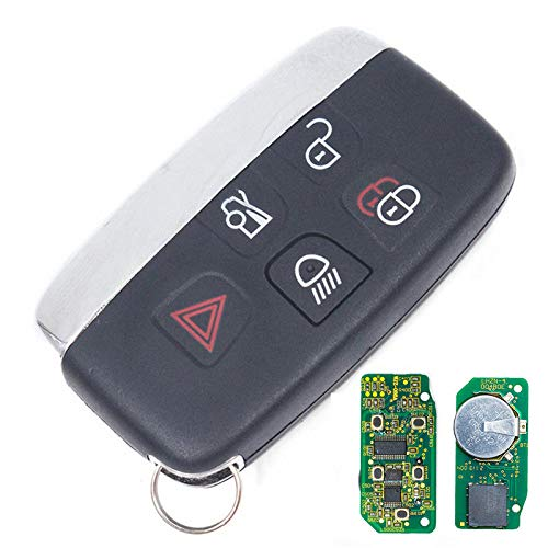 Keyecu 5 Button Smart Remote Key Fob 315Mhz for Land Rover Range Rover 2002-2006