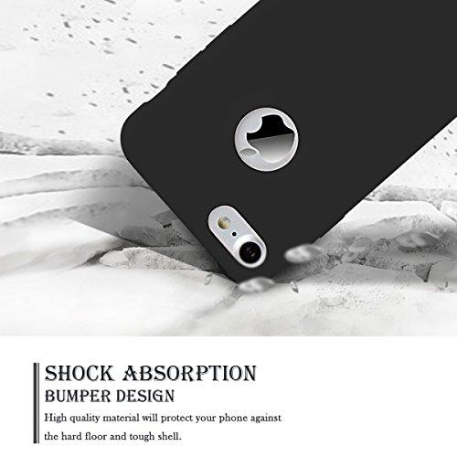 3 x Etui iPhone 7 4.7, SpiritSun Etui Coque TPU Slim Bumper pour Apple iPhone 7 (4.7 pouces) Souple Housse de Protection Flexible Soft Case Cas Couverture Anti Choc Mince Légère Silicone Cover - Rose