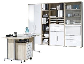 Maja Möbel 1201 2556 Büroprogramm System Sonoma Eiche Nachbildung