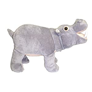 "ADORE 14"" Standing Farting Hippo Plush Stuffed Animal Toy - 41MzIKWzx0L - Adore 14″ Standing Farting Hippo Plush Stuffed Animal Toy"