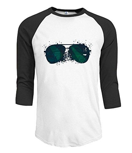 Sunglasses Raglan 34 Sleeves T-Shirt For Mens XS - Munich Sunglasses