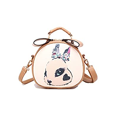 Hipytime AHB880435 Fashionable PU Leather Fashion Women's Handbag,Round-Shaped Box Other