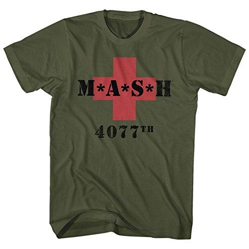 Classic Army Green T-shirt - 9