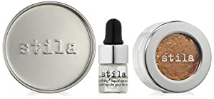 stila Magnificent Metals Foil Finish Eye Shadow, Comex Gold