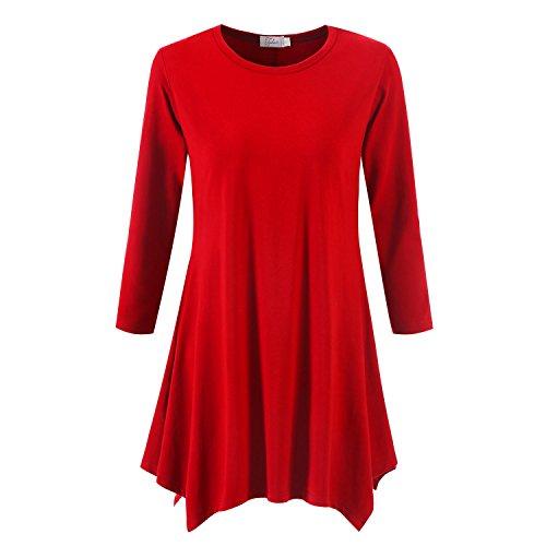 3/4 sleeve dress shirt - 6