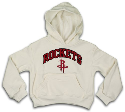 11 Houston Rockets Jersey (Houston Rockets NBA Girls Pullover Hooded Sweatshirt (Large (10-12), Cream))