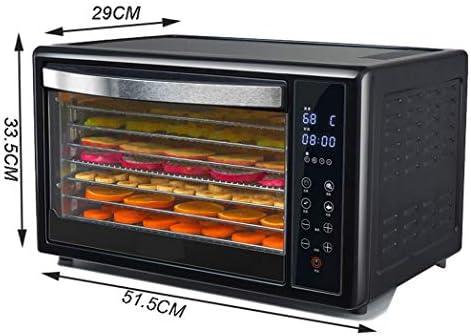 Máquina de conservación de alimentos para el hogar Secador de frutas, 8 capas de gran capacidad Ciclo de viento tridimensional Ahorro de energía Secador de frutas seguro y duradero, 350W