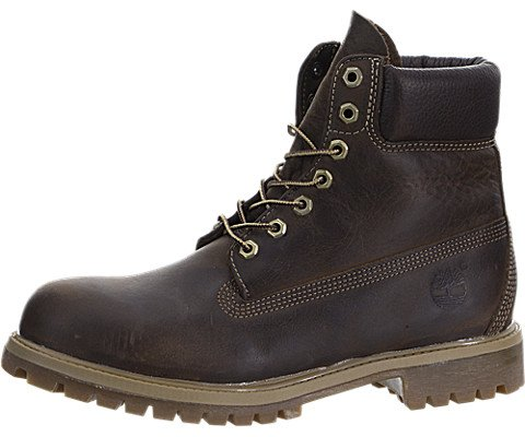 Timberland Heritage 6in Premium Boot - Men's Brown Burnished Full Grain, 12.0