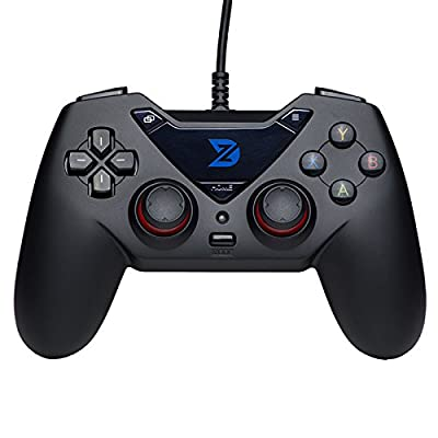 ZD-C Wired Gaming Controller USB Gamepad for PC(Windows XP/7/8/10) & Playstation 3 & Android & Steam