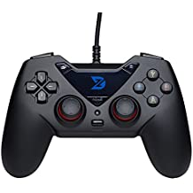 ZD-C Wired Gaming Controller USB Gamepad PC(Windows XP/7/8/10) & PlayStation 3 & Android & Steam