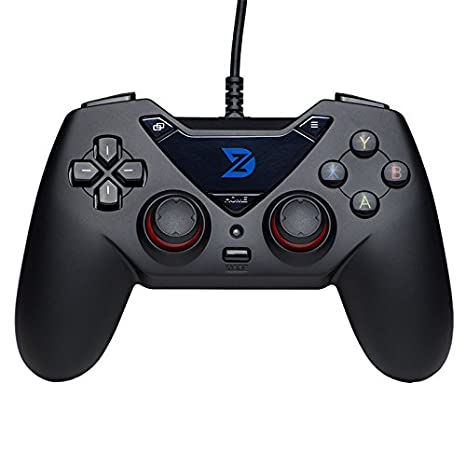 4f451ce6726 Amazon.com: ZD-C Wired Gaming Controller USB Gamepad for PC(Windows  XP/7/8/10) & Playstation 3 & Android & Steam: Computers & Accessories