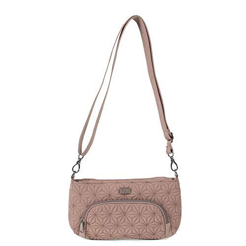 Lug Women's Flyer Mini Cross-Body Bag, Chestnut Brown, One Size ()