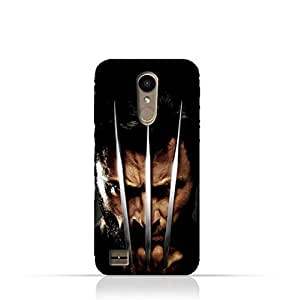 LG K10 2017 TPU Protective Silicone Case with Wolverine Design