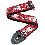 Planet Waves Joe Satriani Planet Lock Guitar Strap, Up In Flames