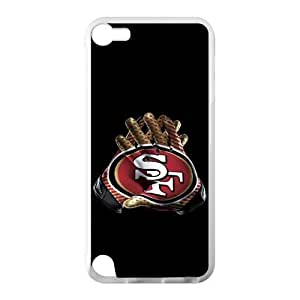 Use Both Hands To Show The Strength Of The San Francisco 49ers Ipod Touch 5 Case Cover Shell (Laser Technology) by supermalls