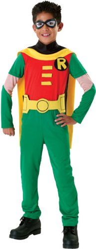 Teen Titans Child's Robin Costume, (Cute Group Superhero Costumes)