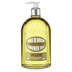L\'Occitane Almond Shower Oil, 16.9 Fl Oz
