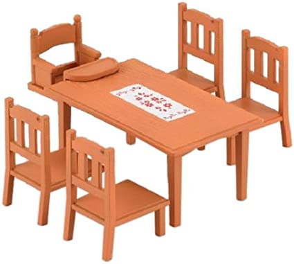 Epoch Calico Critters Families Furniture dining table set Japan