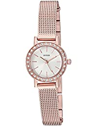GUESS Women's Quartz Stainless Steel Casual Watch, Color:Rose Gold-Toned (Model: U0954L3)