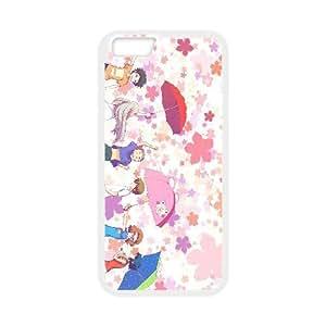 Anohana 4 funda de plástico iPhone 6S 4.7 pulgadas del teléfono celular funda funda caja del teléfono celular blanco cubren ALILIZHIA08083