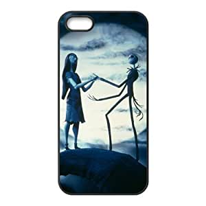 Case for iPhone 5s,Cover for iPhone 5s,Case for iPhone 5,Hard Case for iPhone 5s,The Nightmare Before Christmas Design TPU Hard Case for Apple iPhone 5 5S