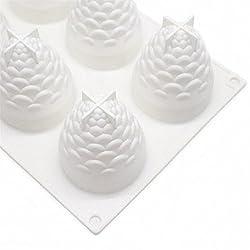 3D Pinecone Cake Mold - MoldFun Christmas Pine Con