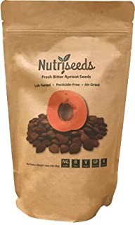 Fresh Bitter Raw Apricot Seeds | 100% Natural | 1LB Bag