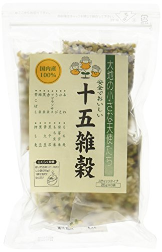 Domestic fifteen millet [15 kinds of amaranth filled of millet] X6 bags by Nagano rice