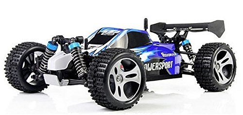 Wltoys A959 Vortex 1/18 2.4G 4WD Electric RC Car Off-Road Independent Suspension Buggy RTR-Blue