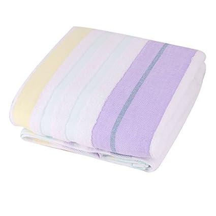 eDealMax KUTTO autorizado Mezclas del algodón patrón de Rayas toalla de Playa Baño Ducha Bañera