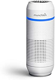 Munchkin Portable Air Purifier, 4-Stage True HEPA Filtration System Eliminates 99.7% of Micro-Pollutants