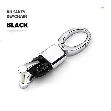 Mercury_Group, funda para llave de auto, llavero de cuero tejido a ...