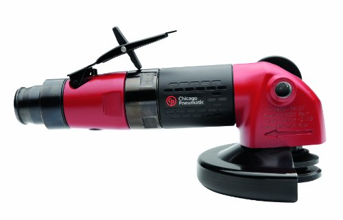 """Chicago Pneumatic CP3450-12AB5 Heavy Duty Industrial Angle Grinder with 5"""" Guard and 5/8-11 Spindle"""