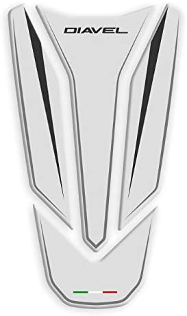 PARASERBATOIO RESINA 3D TANKPAD DUCATI DIAVEL GP-656 Black