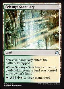 Magic: the Gathering - Selesnya Sanctuary (248/249) - Modern Masters 2015 - -