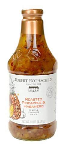 Mango Pineapple (Robert Rothschild Roasted Pineapple and Habanero Sauce 40 oz)
