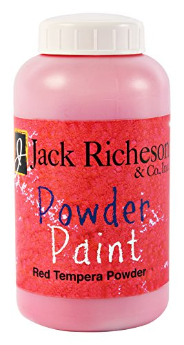 (Jack Richeson Powdered Tempera Paint, Red, 1 Pound)