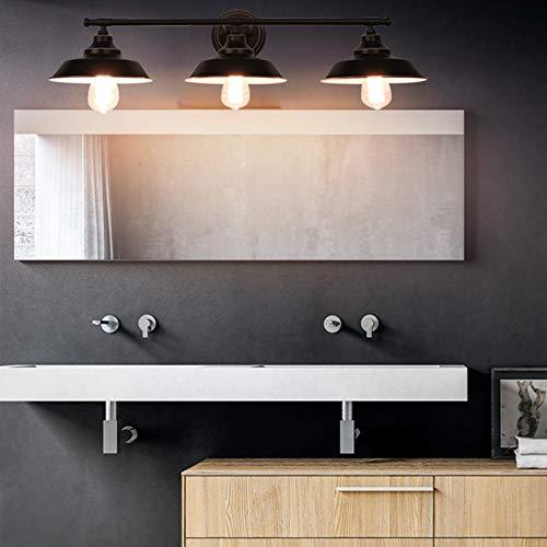 LMSOD Vintage Industrial Black 3 Light Tube Wall Sconce Lighting Fixture Fashion Simplicity Metal Based by LMSOD (Image #3)