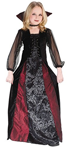 Child's Gothic Vampira Costume (Size:Large 12-14)