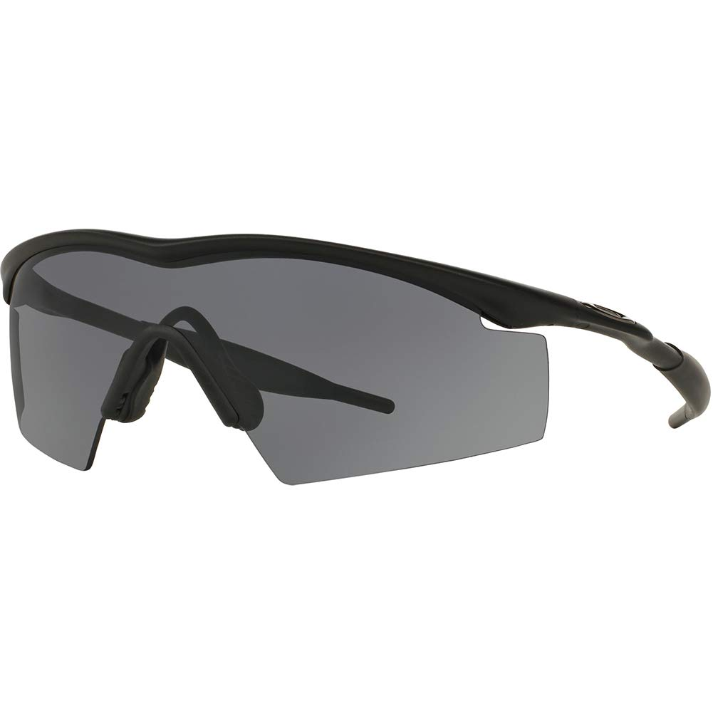 Amazon.com: Oakley M Frame Industrial Men's Sport Designer  Sunglasses/Eyewear - Black/Grey/One Size Fits All: Shoes